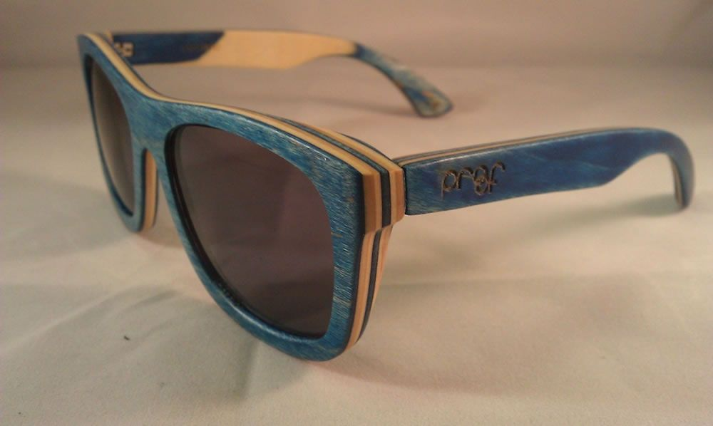 Kreatív ajándék ötlet 19 fa napszemüveg   Kreatív ajándék