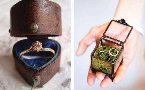Esküvői gyűrű dobozkák