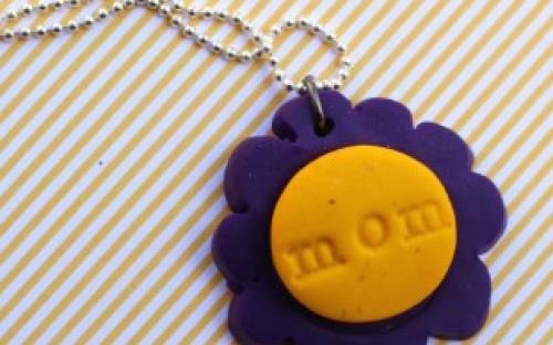 Nyaklánc készítés Anyák napjára