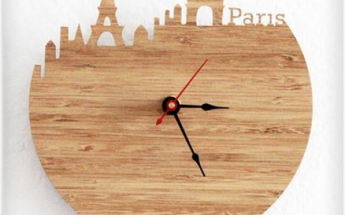 Kreatív ajándék ötletek - 11 csodálatos óra fából