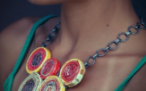 Kreatív ajándék ötlet nőknek - nyaklánc