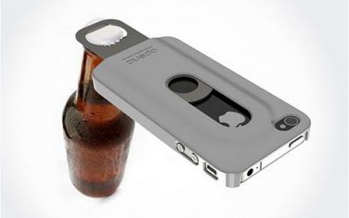 Kreatív sörnyitó iPhone őrülteknek
