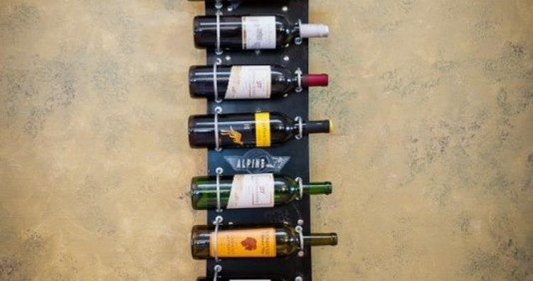 Kreatív ajándék ötlet - bortárolás