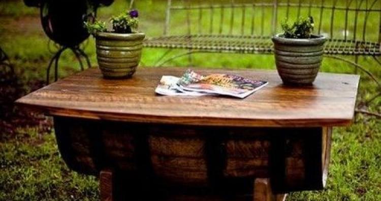 Kreatív ajándék ötlet: mire jó a régi boroshordó?