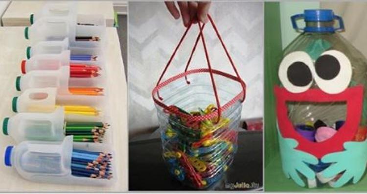 Kreatív ajándék ötlet gyerekeknek: filleres ötletek tárolásra