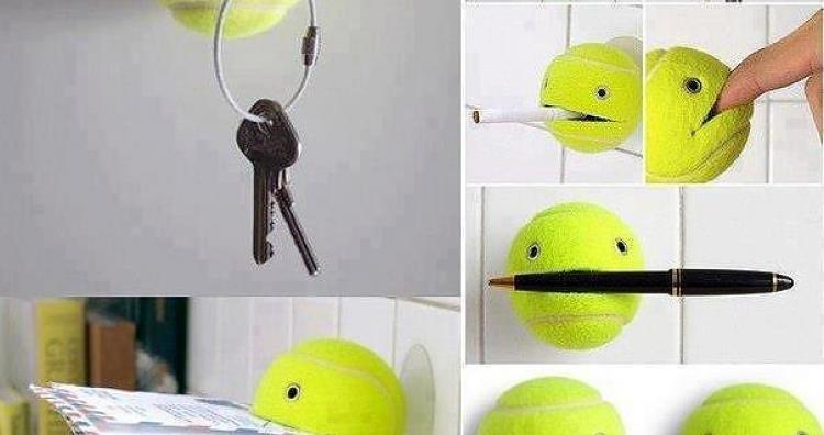 Kreatív ötlet: mire jó a teniszlabda