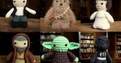 Horgolt Star Wars figurák
